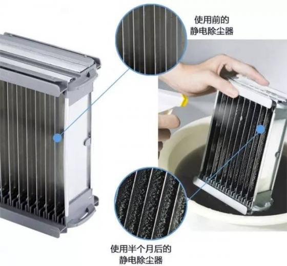 空气净化机静电除尘器保养小窍门