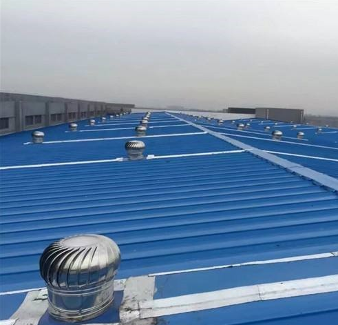 屋顶通风器顶风球安装方法